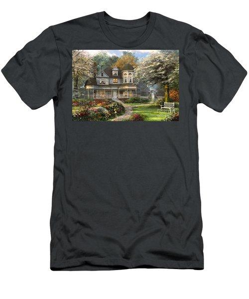 Victorian Home Men's T-Shirt (Athletic Fit)