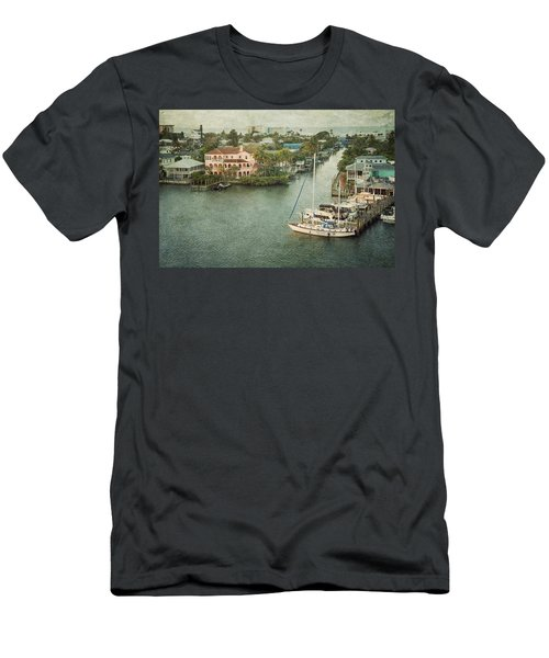 View At Fort Myers Beach - Florida Men's T-Shirt (Athletic Fit)