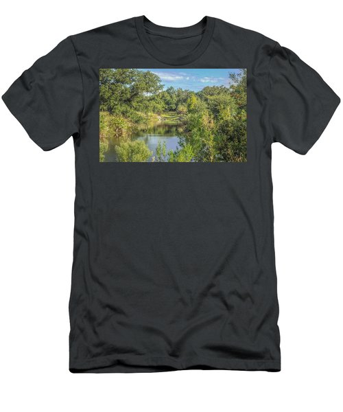 View Down The Creek Men's T-Shirt (Athletic Fit)