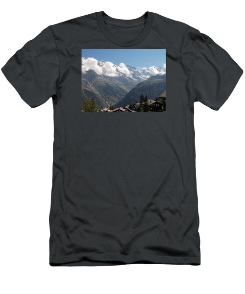 View From Murren Men's T-Shirt (Athletic Fit)