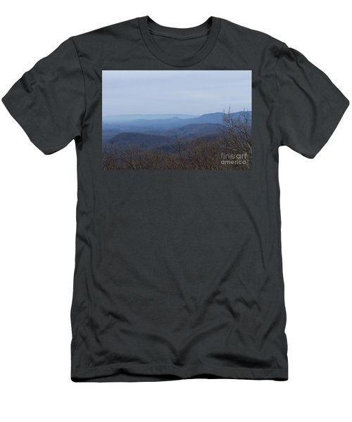 View From Springer Mountain Men's T-Shirt (Slim Fit) by Paul Rebmann