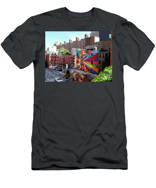 View From The Highline Men's T-Shirt (Athletic Fit)