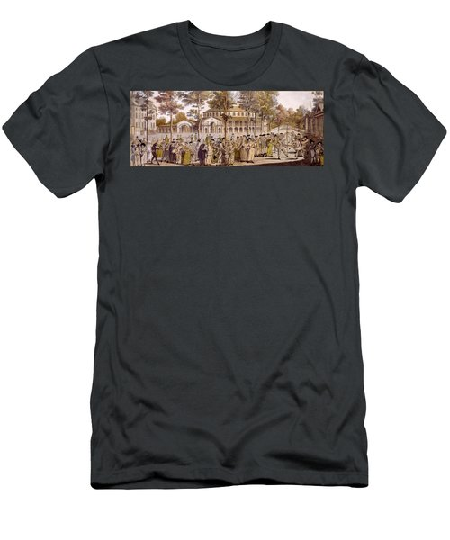 View Of The Jubilee Ball, Ranelagh Men's T-Shirt (Athletic Fit)