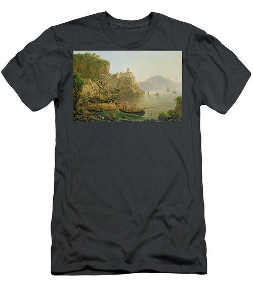 View Towards Atrani On The Amalfi Men's T-Shirt (Athletic Fit)