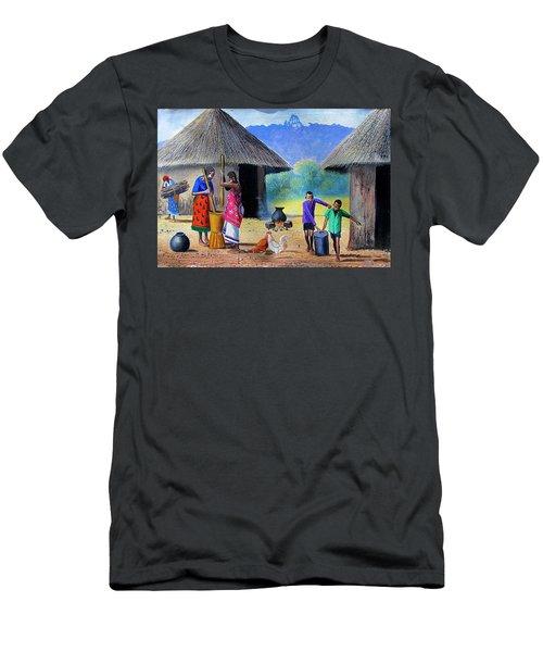 Village Chores Men's T-Shirt (Athletic Fit)