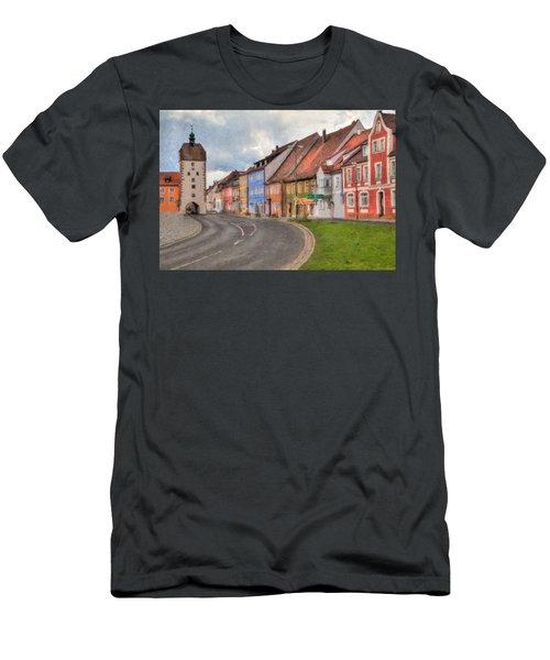 Vilseck Marktplatz Men's T-Shirt (Athletic Fit)