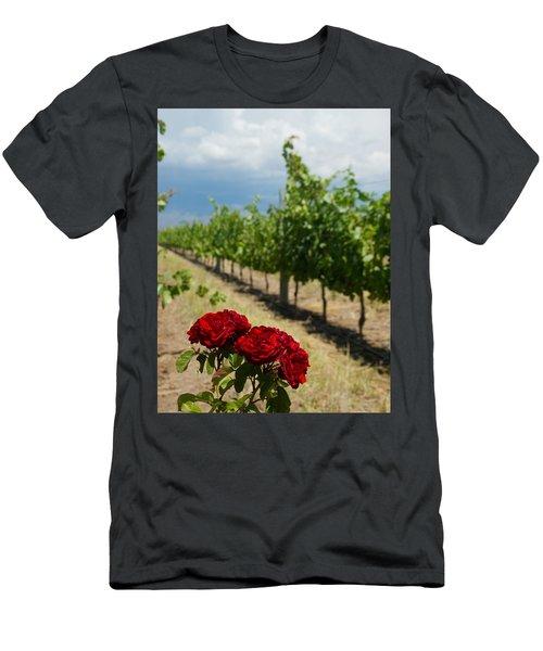 Vineyard Rose Men's T-Shirt (Athletic Fit)