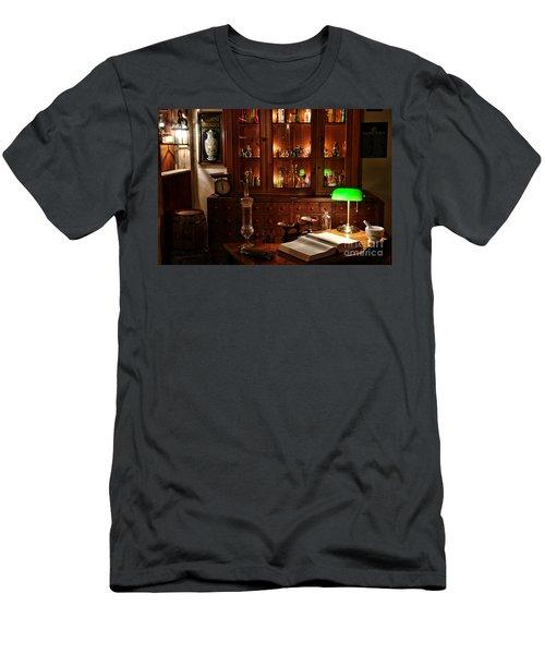 Vintage Apothecary Shop Men's T-Shirt (Athletic Fit)