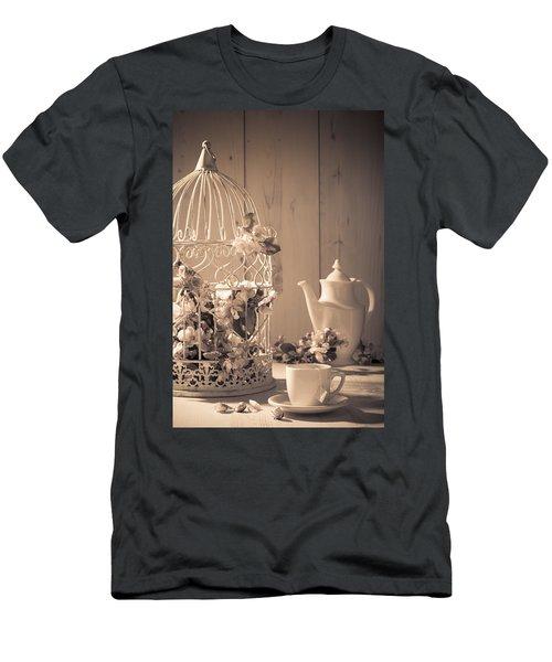 Vintage Birdcage Men's T-Shirt (Athletic Fit)