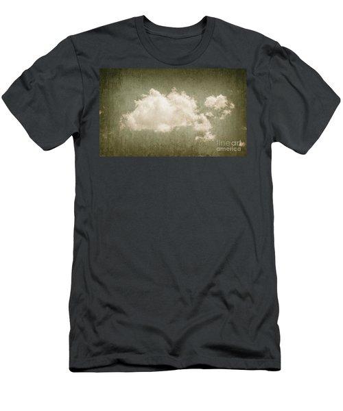 Vintage Clouds Background Men's T-Shirt (Athletic Fit)