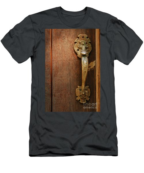 Vintage Door Handle Men's T-Shirt (Athletic Fit)