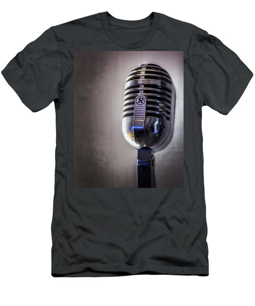 Vintage Microphone 2 Men's T-Shirt (Athletic Fit)