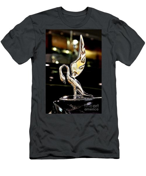 Vintage Swan Packard Hood Ornament Car Fine Art Photography Print  Men's T-Shirt (Athletic Fit)