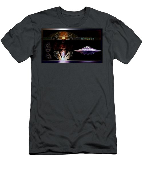 Visitor To Atlantis Men's T-Shirt (Slim Fit) by Hartmut Jager