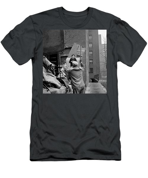 Vivian Maier Self Portrait Probably Taken In Chicago Illinois 1955 Men's T-Shirt (Slim Fit) by David Lee Guss