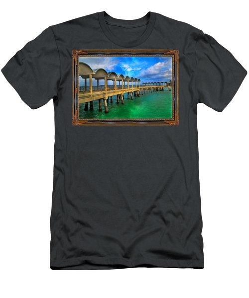 Vivid Calm Men's T-Shirt (Athletic Fit)