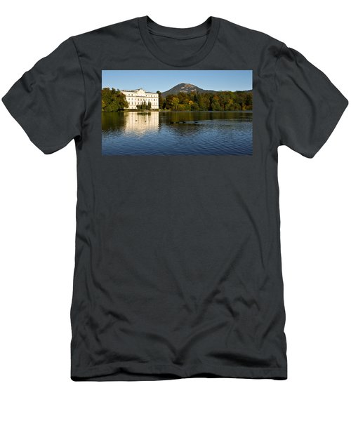 Men's T-Shirt (Slim Fit) featuring the photograph Von Trapp's Mansion by Silvia Bruno