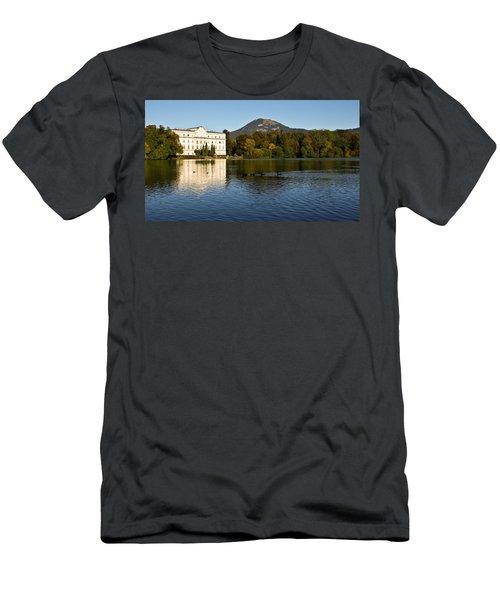 Von Trapp's Mansion Men's T-Shirt (Slim Fit) by Silvia Bruno