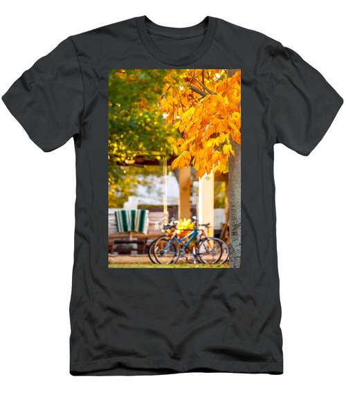 Waiting For A Ride Men's T-Shirt (Athletic Fit)