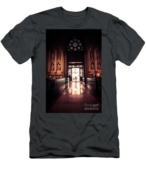 Waiting In Faith Men's T-Shirt (Athletic Fit)