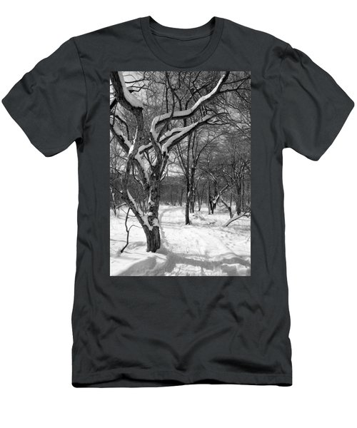 Walk In The Snow Men's T-Shirt (Athletic Fit)