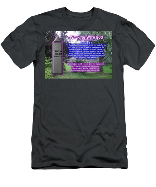 Walking With God Men's T-Shirt (Athletic Fit)