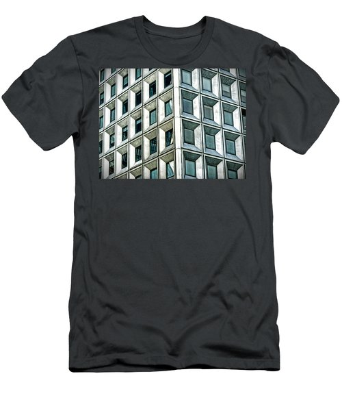 Wall Street Building Men's T-Shirt (Athletic Fit)