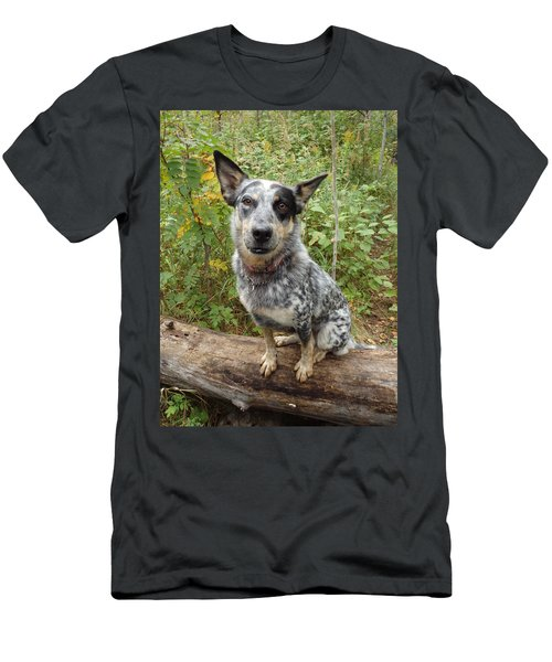 Men's T-Shirt (Athletic Fit) featuring the photograph Wanna Play by James Peterson