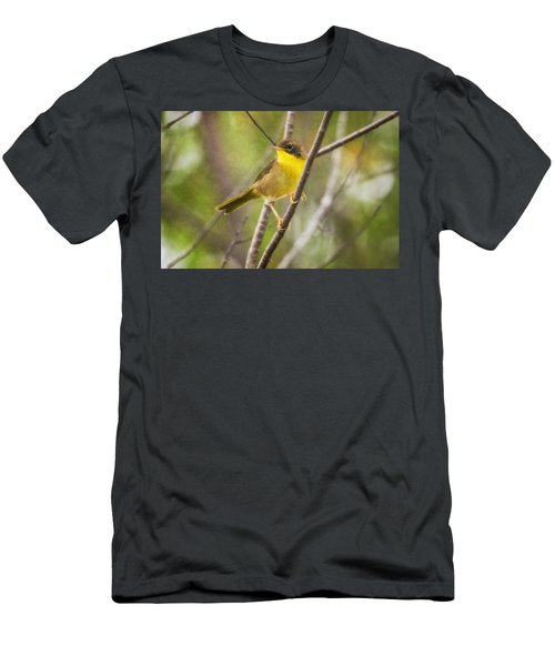 Warbler In Sunlight Men's T-Shirt (Athletic Fit)