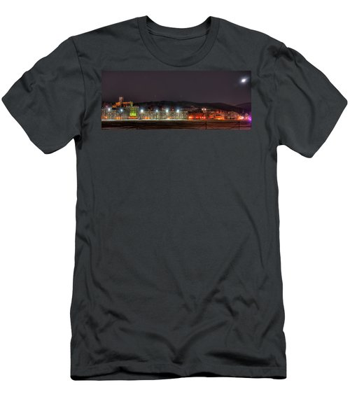 Washington Hall At Night Men's T-Shirt (Athletic Fit)