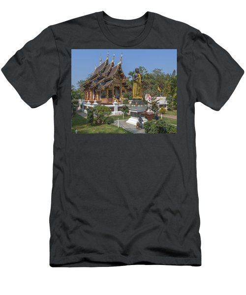 Wat Chedi Liem Phra Ubosot Dthcm0831 Men's T-Shirt (Athletic Fit)