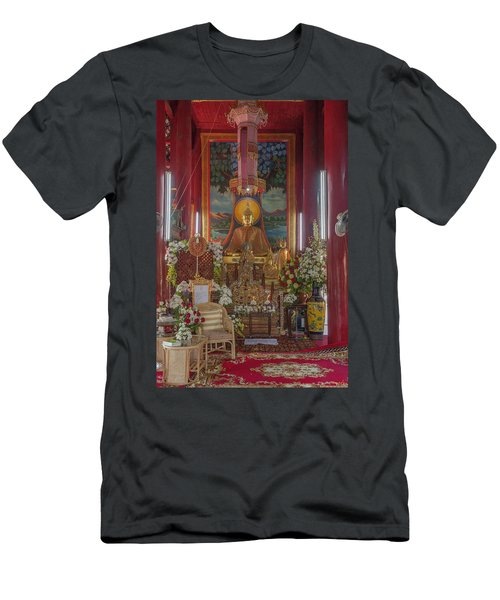 Wat Chedi Liem Phra Wihan Buddha Image Dthcm0827 Men's T-Shirt (Athletic Fit)