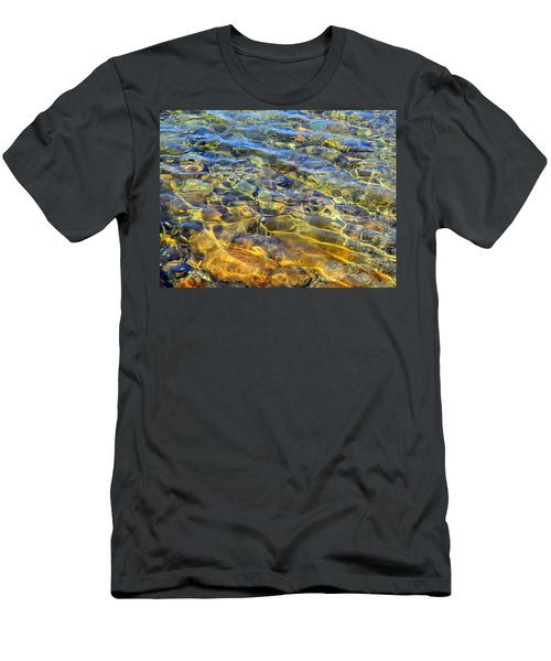 Water Abstract Men's T-Shirt (Athletic Fit)