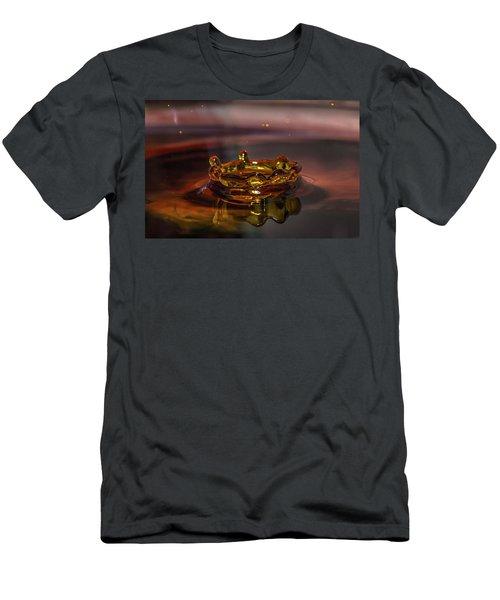 Water Drop Art Men's T-Shirt (Athletic Fit)