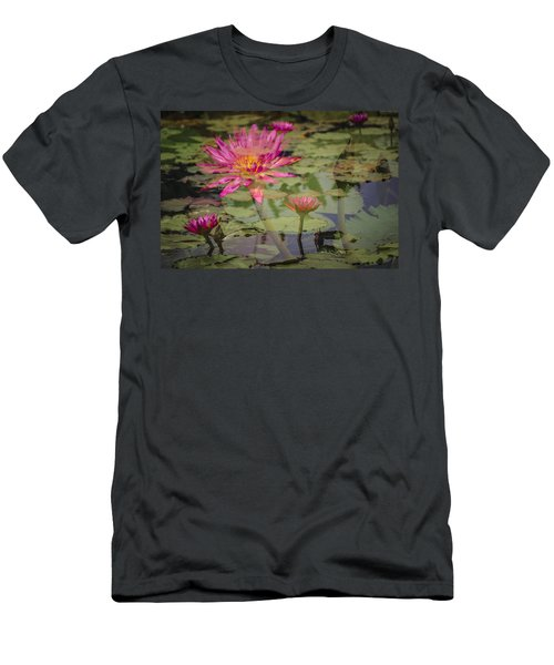 Water Garden Dream Men's T-Shirt (Athletic Fit)