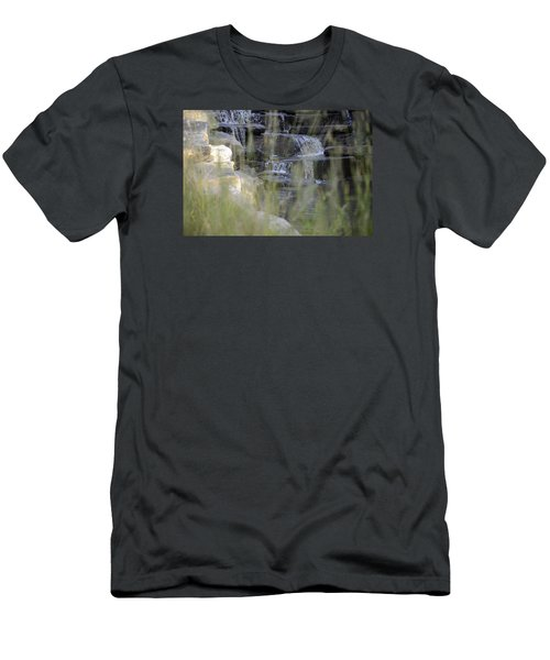 Men's T-Shirt (Slim Fit) featuring the photograph Water Is Life 1 by Teo SITCHET-KANDA