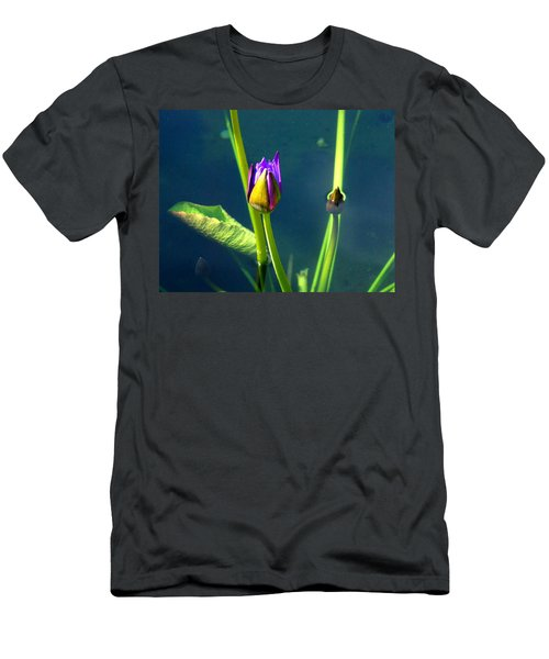 Water Lily 005 Men's T-Shirt (Athletic Fit)