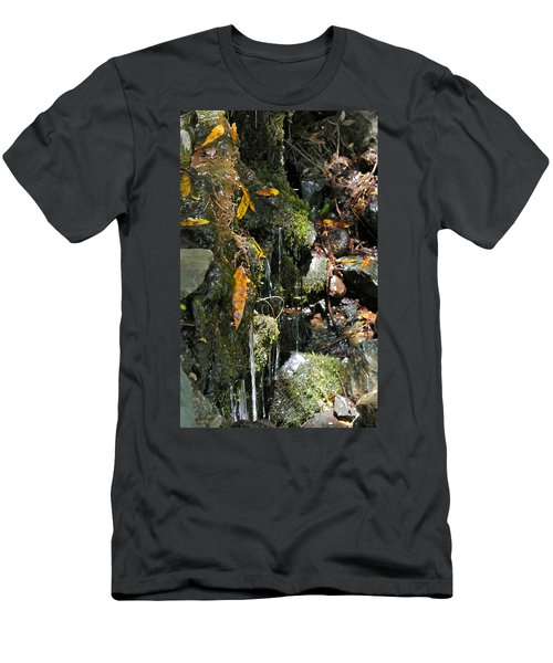 Men's T-Shirt (Slim Fit) featuring the photograph Water Of Life by Michele Myers