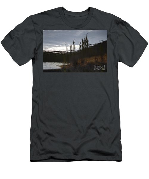 Men's T-Shirt (Slim Fit) featuring the photograph Water Paint by Brian Boyle