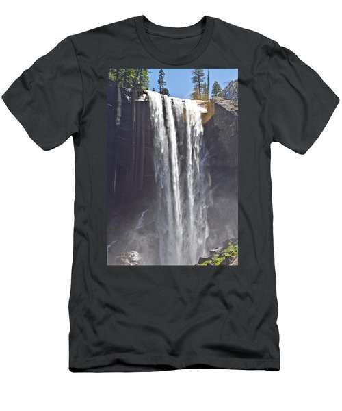 Waterfall Men's T-Shirt (Slim Fit) by Brian Williamson