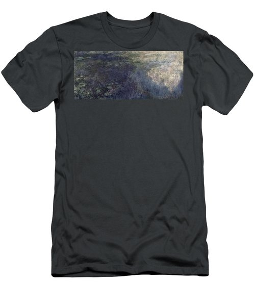 Waterlilies, The Clouds Men's T-Shirt (Athletic Fit)