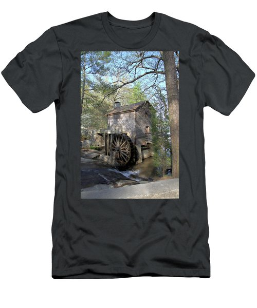 Waterwheel At Stone Mountain Men's T-Shirt (Athletic Fit)