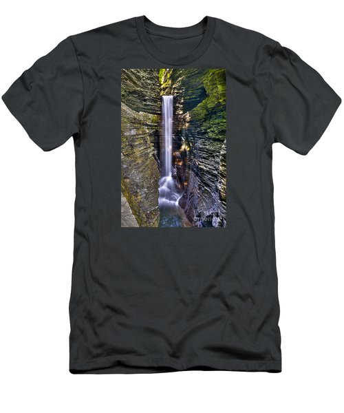 Watkins Glen Cascade Men's T-Shirt (Athletic Fit)