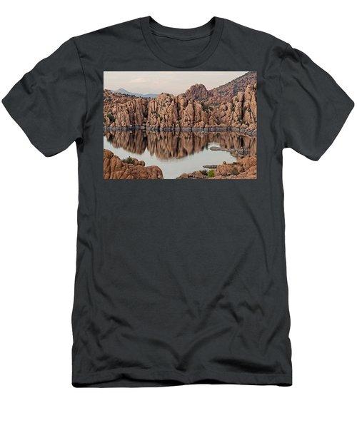 Watson Lake Tranquility Men's T-Shirt (Athletic Fit)