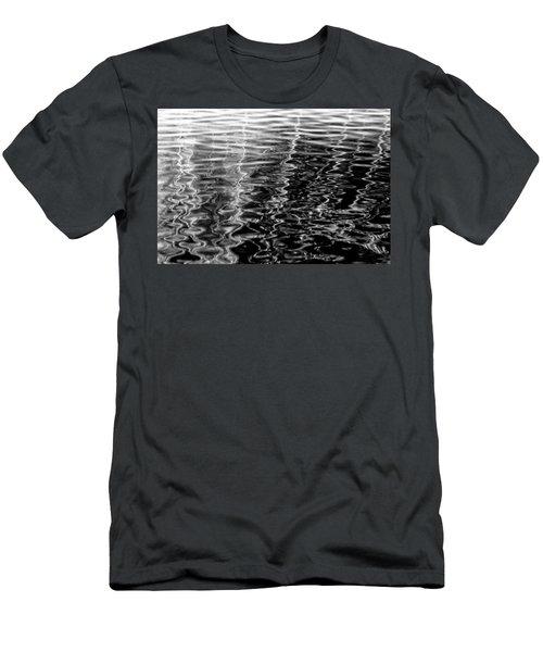 Wavy Men's T-Shirt (Athletic Fit)
