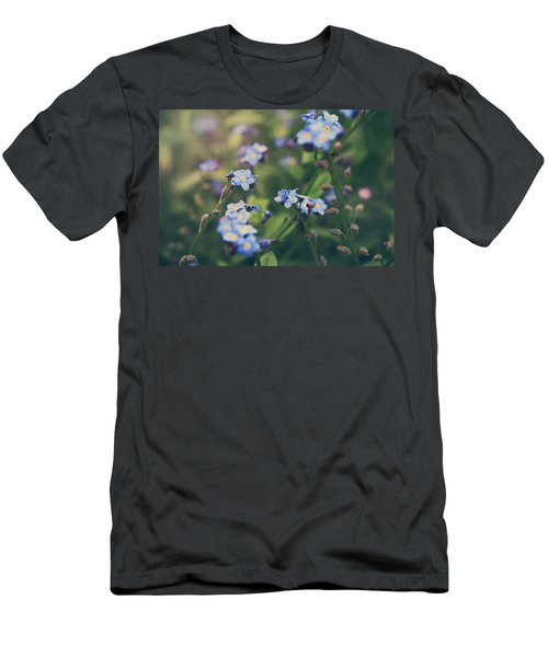 We Lay With The Flowers Men's T-Shirt (Athletic Fit)