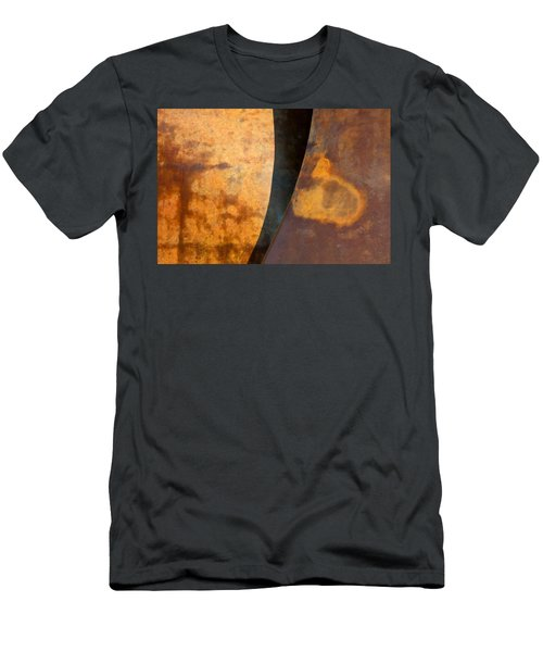 Weathered Bronze Abstract Men's T-Shirt (Athletic Fit)
