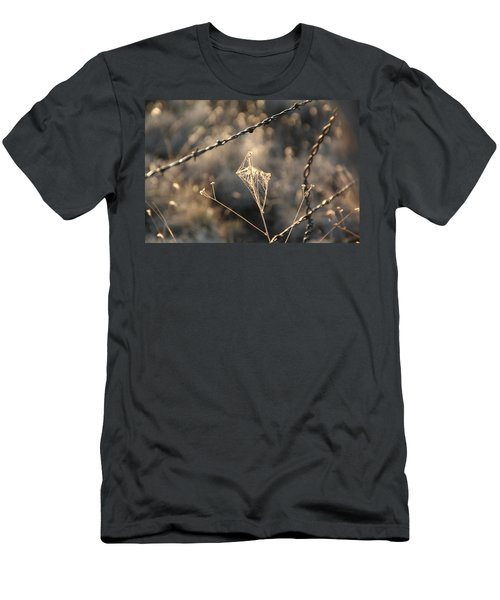 Men's T-Shirt (Slim Fit) featuring the photograph web by David S Reynolds