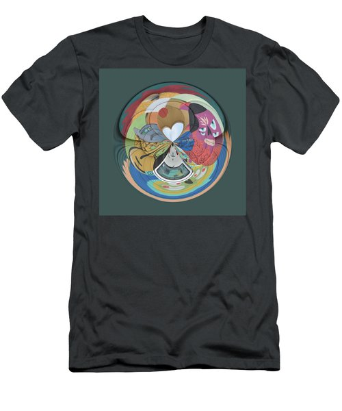 Weird Orb  Men's T-Shirt (Athletic Fit)