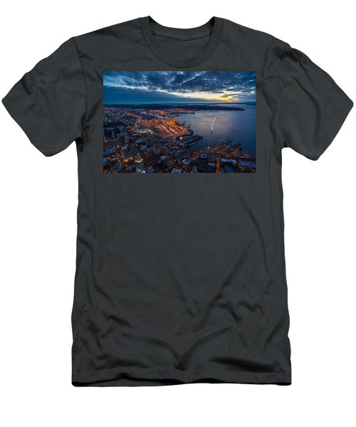 West Seattle Water Taxi Men's T-Shirt (Athletic Fit)